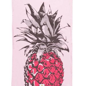 Mycha Ibiza Kikoy strandlaken ananas roze