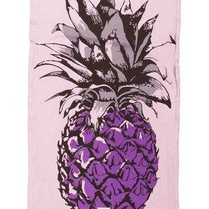 Mycha Ibiza Kikoy strandlaken ananas paars