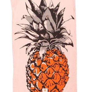 Mycha Ibiza Kikoy strandlaken ananas oranje