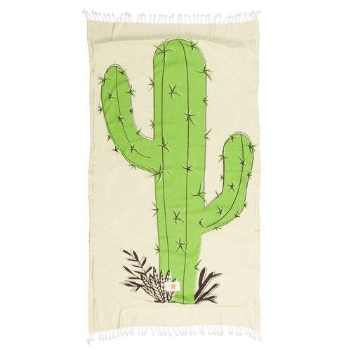 Mycha Ibiza Kikoy strandlaken cactus groen