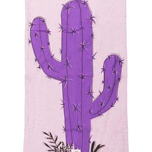 Mycha Ibiza Kikoy strandlaken cactus paars
