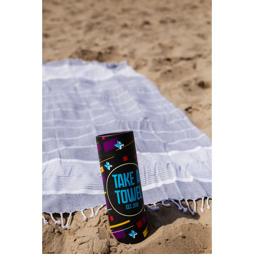 Take A Towel Take A Towel Hamamdoek zwart space TAT 1-1