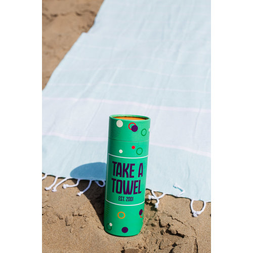 Take A Towel Take A Towel Hamamdoek groen space TAT 1-5