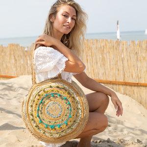 Mycha Ibiza Jute ronde tas Cala Bassa 4