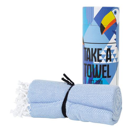 Take A Towel Take A Towel Hamamdoek lichtblauw Toekan TAT 4 -4