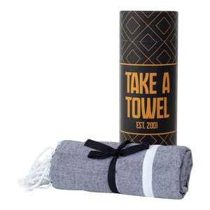 Take A Towel Take A Towel Hamamdoek zwart goud TAT 5-3