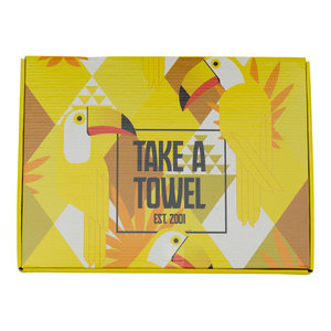 Take A Towel Take A Towel Hamamdoek geel Toekan TAT 4A-3
