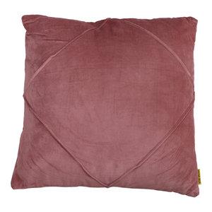 Mycha Ibiza Sierkussen Dori Velvet katoen 45x45 Roze