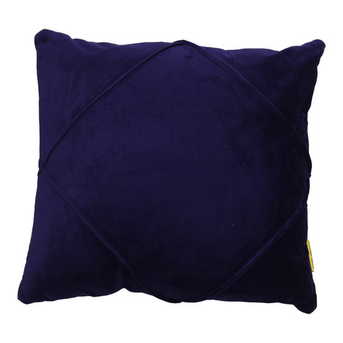 Mycha Ibiza Sierkussen Dori Velvet katoen 45x45 Donkerblauw