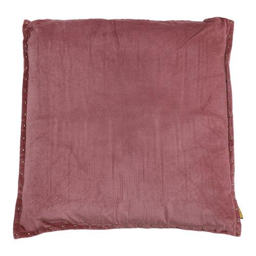 Mycha Ibiza Sierkussen Pala Velvet katoen 60x60 Roze