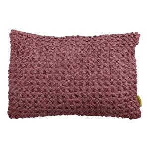 Mycha Ibiza Sierkussen Lonn Velvet katoen 40x60 Roze