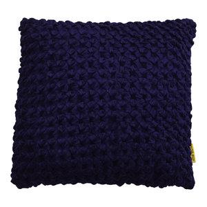 Mycha Ibiza Sierkussen Lonn Velvet katoen 45x45 Donkerblauw