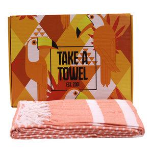 Take A Towel Take A Towel Hamamdoek oranje Toekan TAT 4A-6