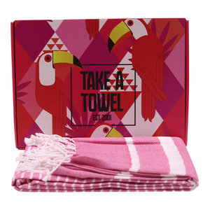 Take A Towel Take A Towel Hamamdoek rozeToekan TAT 4A-5