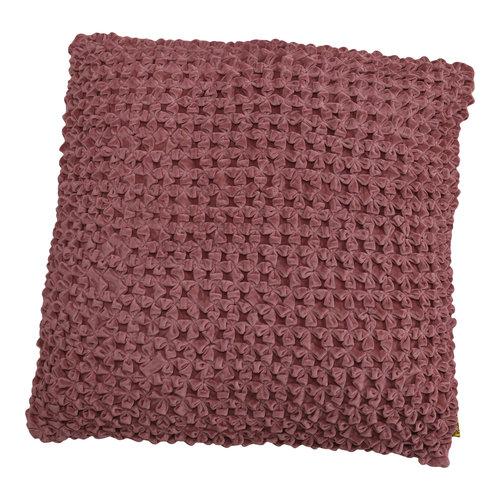 Mycha Ibiza Sierkussen Lonn Velvet katoen 45x45 Roze