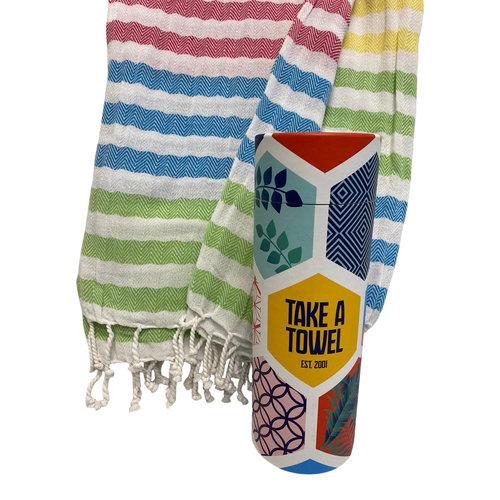 Take A Towel Take A Towel Hamamdoek Rainbow TAT 7