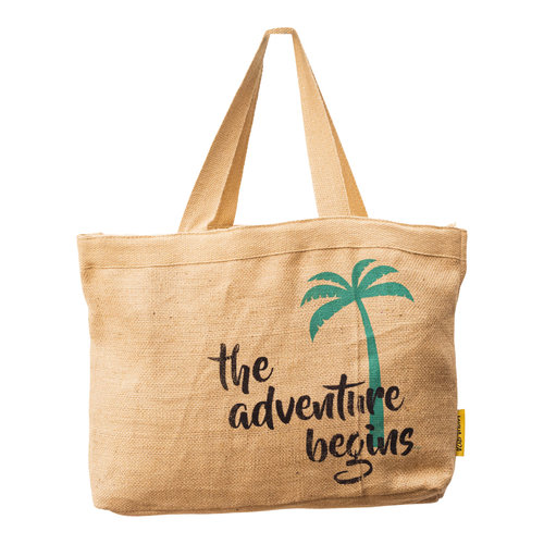 Mycha Ibiza Jute basic strandtas Adventure
