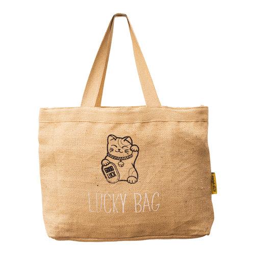 Mycha Ibiza Jute basic strandtas Lucky Bag
