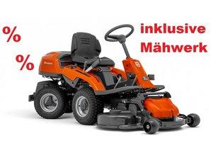 Husqvarna® Husqvarna Rider R 214 T AWD mit Frontmähwerk