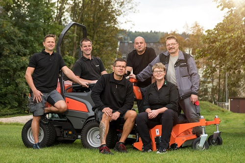 Das Team aus Lößnitz