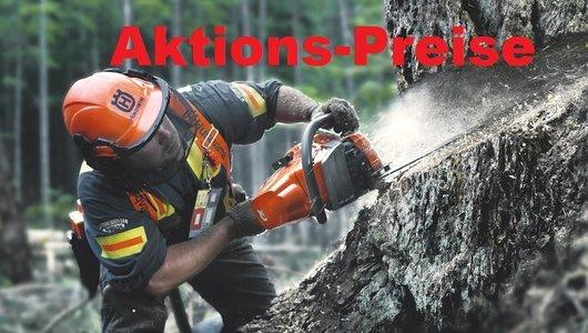 Aktionen: Motorsägen und Forstzubehör