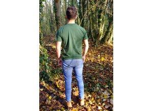 Kiefernrausch T-Shirt in dunkelgrün aus Baumwolle
