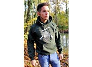 Kiefernrausch Sweatshirt, schwere Qualität, in dunkelgrün
