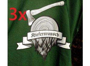 Kiefernrausch 3 T-Shirts zum günstigen Paket-Preis