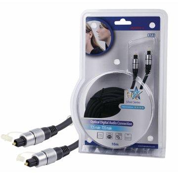 HQ Digitale audiokabel TosLink Male - TosLink Male 10 m
