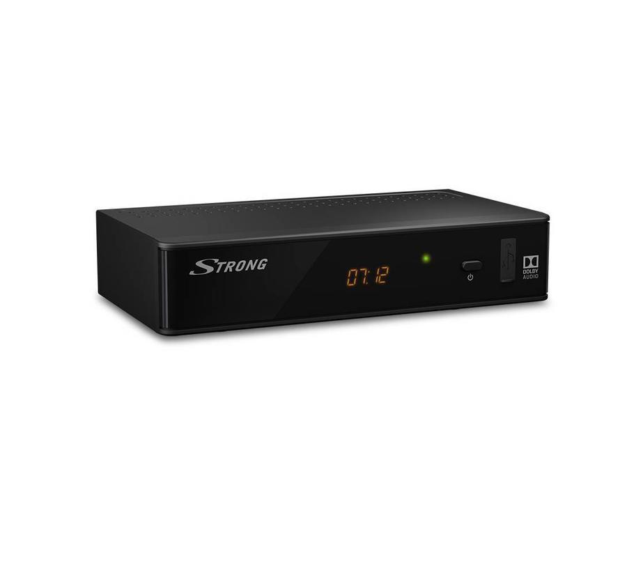 Strong SRT 8211 DVB-T2 HEVC 265 HD met display