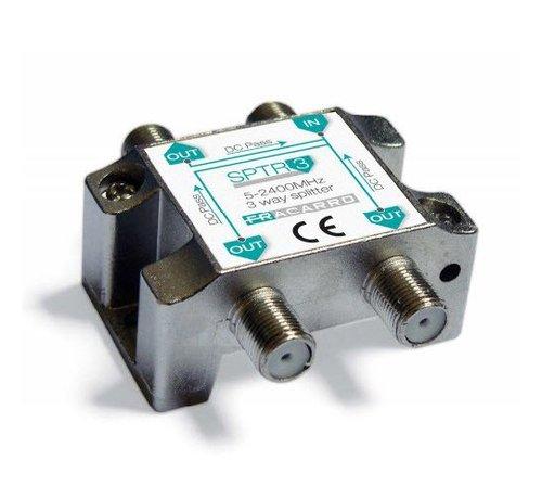 Fracarro Fracarro SPTR3 signaal splitter 3 voudig 5-2400Mhz