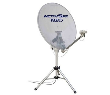 Teleco Teleco Activsat Smart Transparant 85cm TWIN