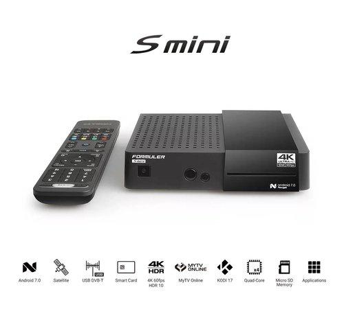 Formuler Formuler S Mini  4K UHD DVB-S2 & OTT-IPTV Media Receiver