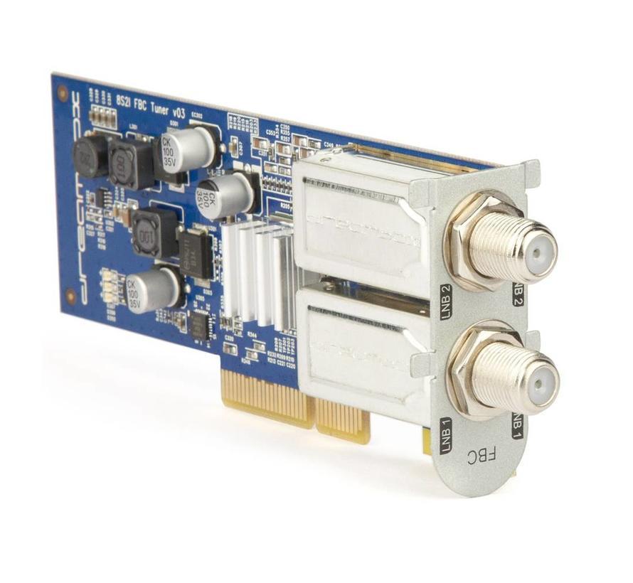 Dreambox DVB-S2X-MS MultiStream FBC twin tuner