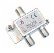 Triax Triax SCS-2 signaal splitter 2 voudig 5-2400Mhz