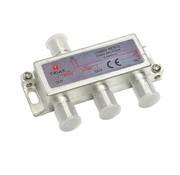 Triax Triax SCS-3 signaal splitter 3 voudig 5-2400Mhz