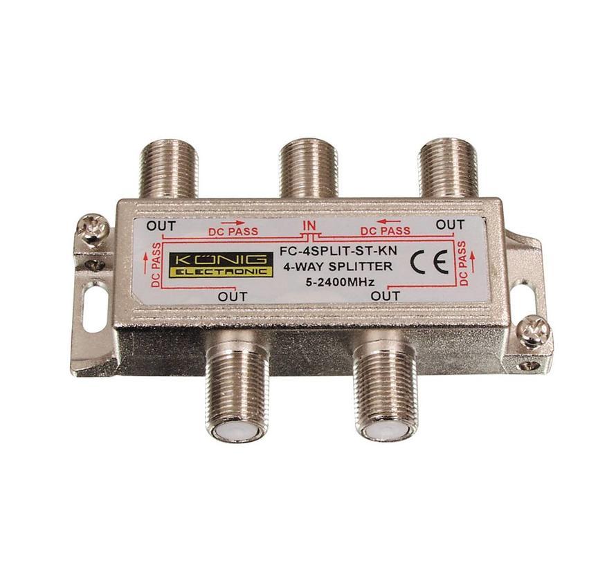 Konig signaal splitter 2 voudig 5-2400Mhz