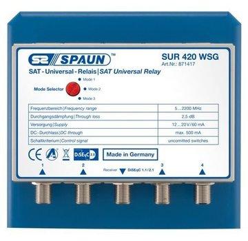 Spaun Spaun SUR 420 uncommitted DiSEqC 4/1 WSG