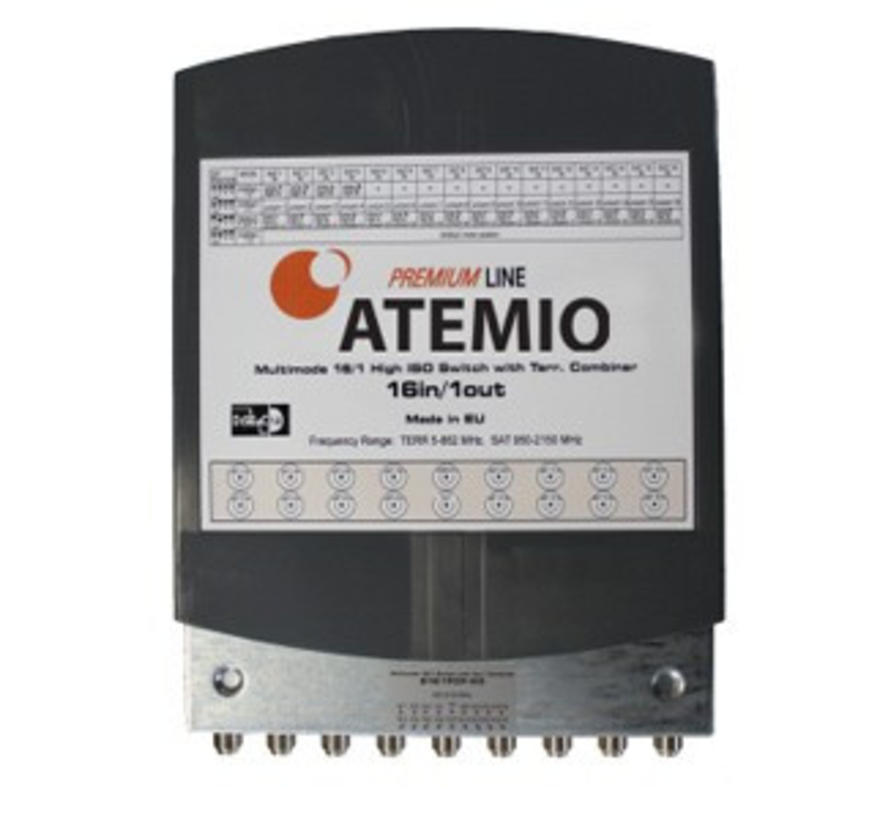 Atemio DiSEqC Switch 16/1 High ISO WSG