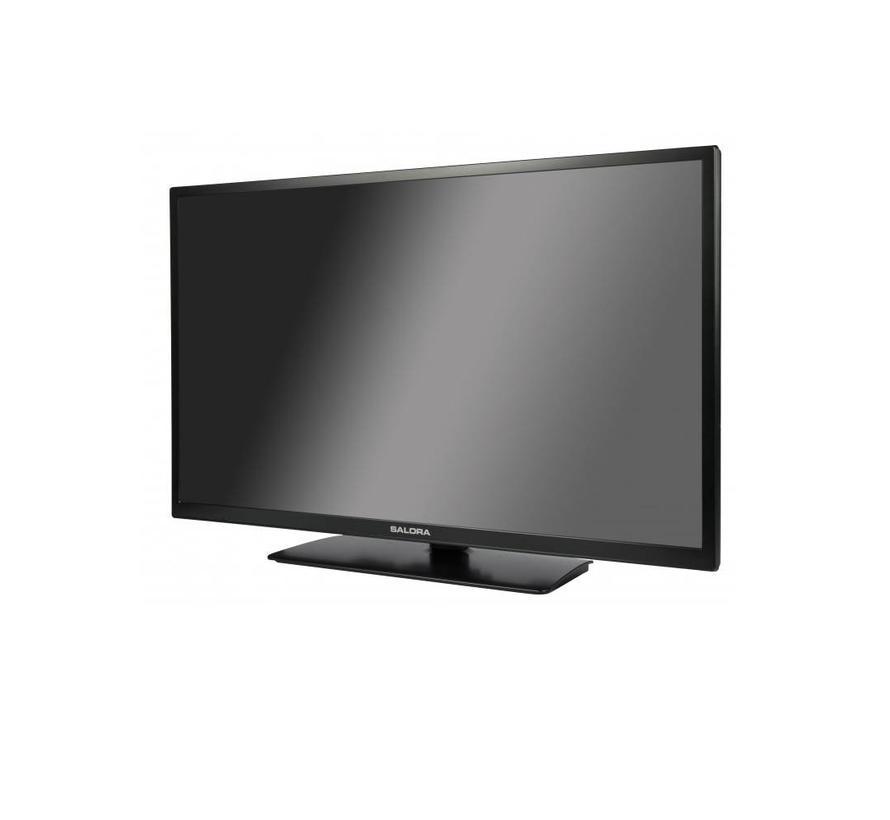 Salora 24 Inch LED 9109 DVB C/T2/S2 + DVD 12V