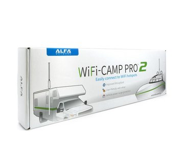 Alfa Network Alfa Network WiFi-Camp Pro2 Set Tube N Antenne + R36A Router