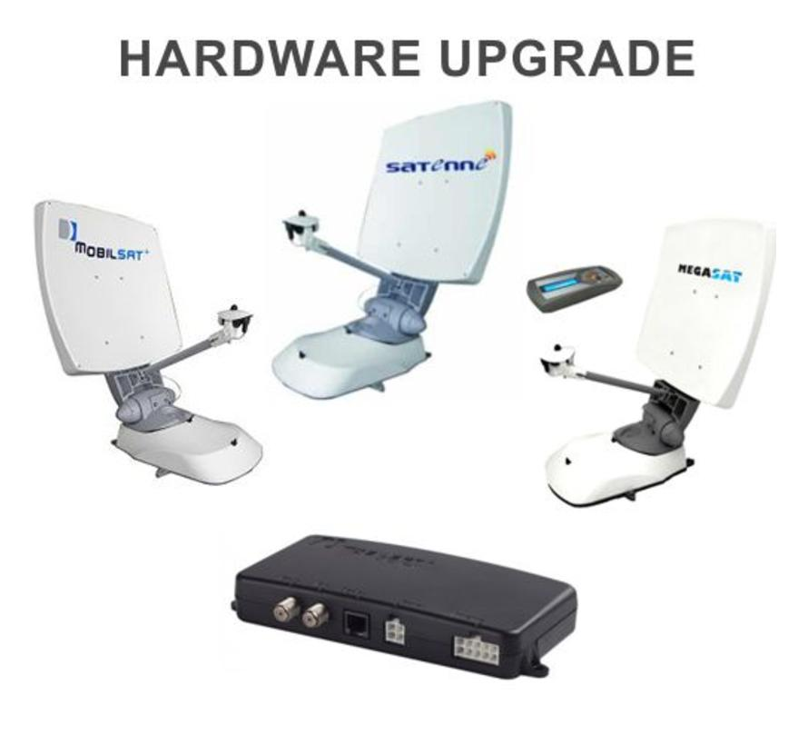 Satenne R2 e.a. ombouw DVB-S2 hardware upgrade