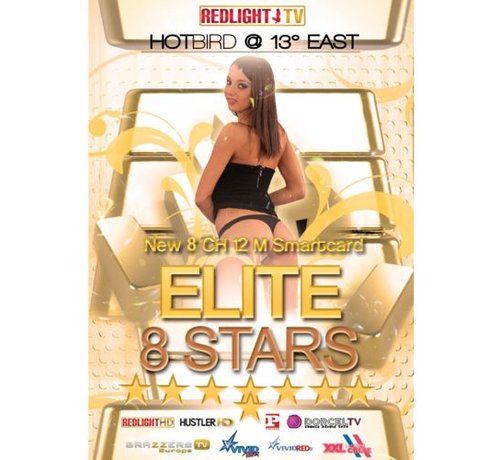 Redlight Elite 8 Stars jaarkaart Viaccess