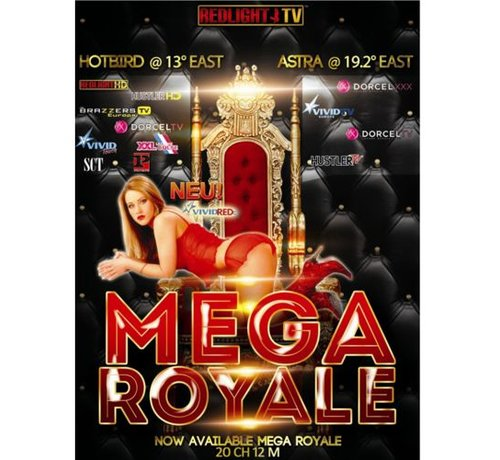 Redlight MEGA Elite Royale 20 Viaccess jaarkaart