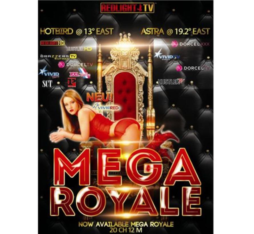 Redlight MEGA Elite Royale 13 Viaccess jaarkaart 20