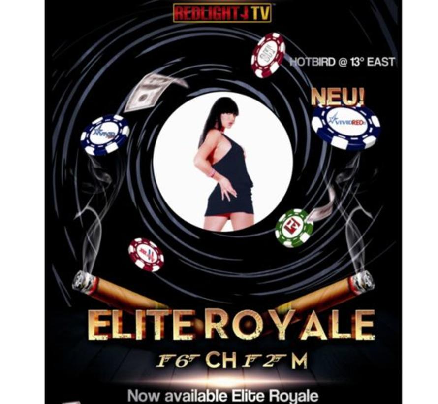Redlight Elite ROYALE 9 zenders Viaccess jaarkaart 16