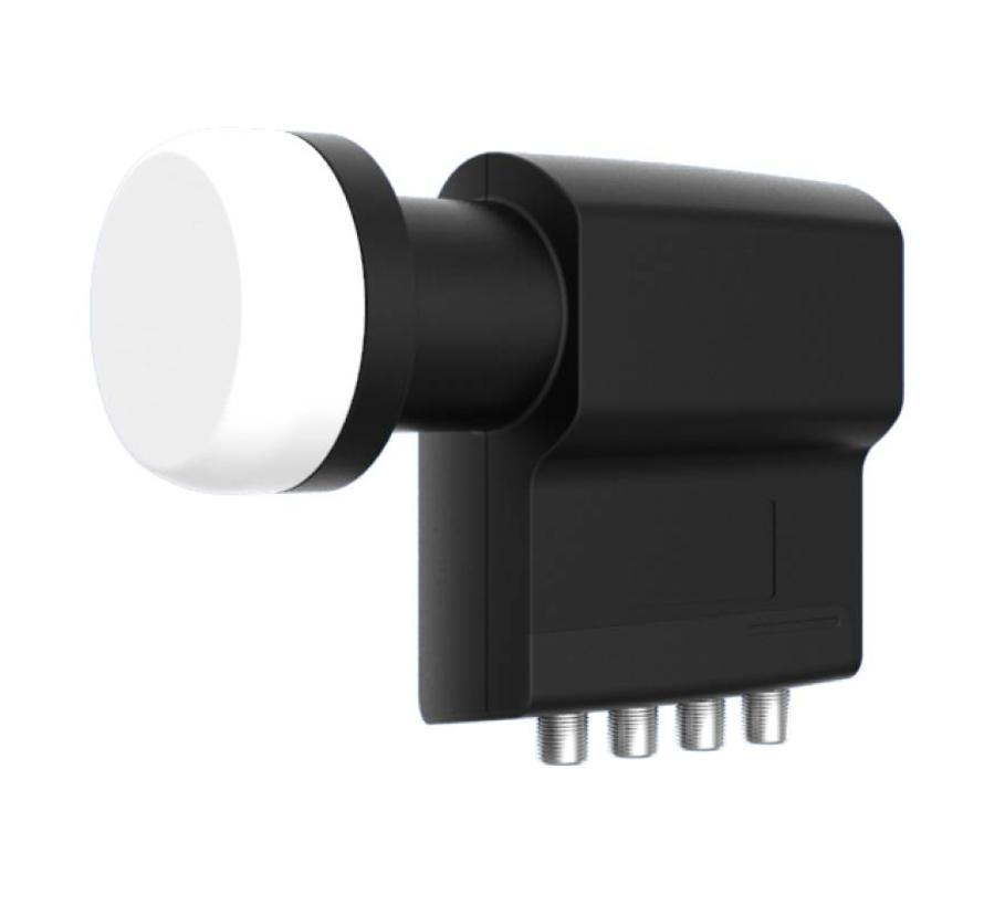 Inverto IDLB-QUDL40-PREMU-OPP Black Premium Quad 40mm LNB