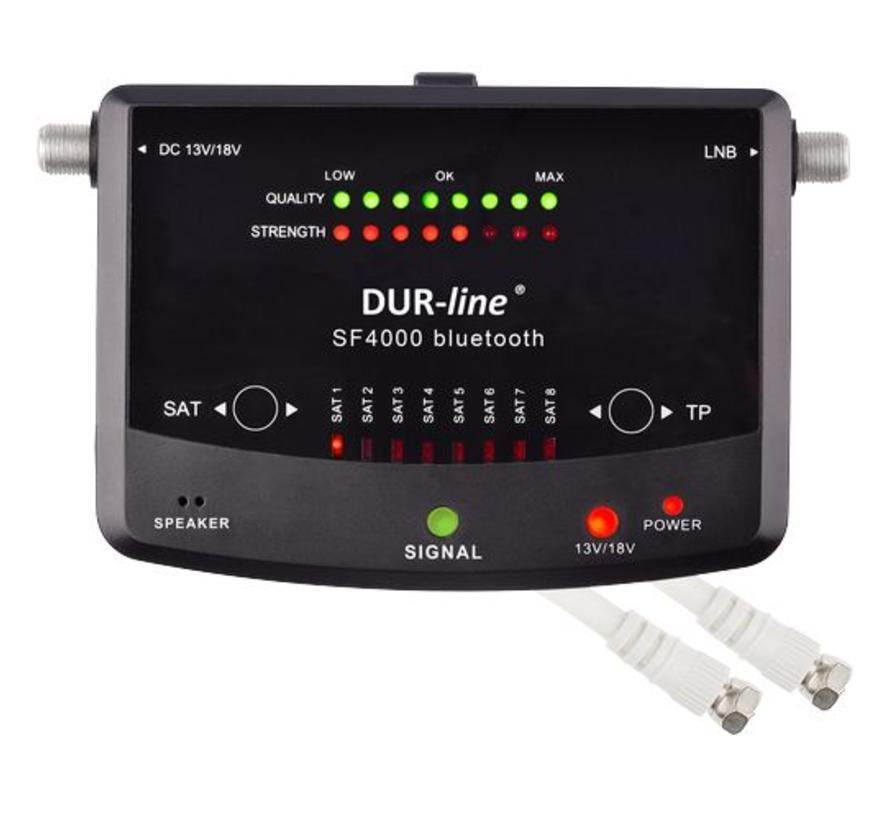 DUR-line SF 4000 BT - satfinder met Bluetooth App