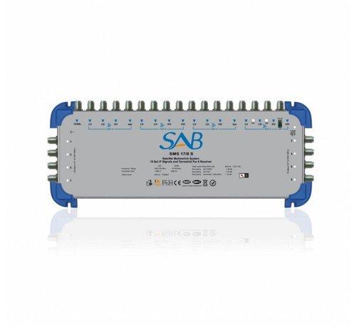 SAB SAB multiswitch SMS 17/08 voor 4 satellieten op 8 gebruikers
