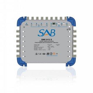 SAB  SAB Multiswitch SMS 9/12 (K214) voor 2 satellieten op 12 gebruikers